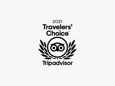 TRAVELERS' CHOICE AWARD 2021